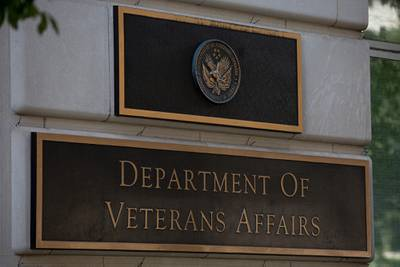 The Department of Veterans Affairs building is seen in Washington on July 22, 2019.