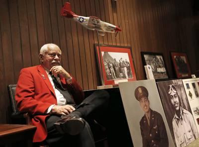 Howard L. Baugh, son of Tuskegee Airman Lt. Col. Howard L. Baugh