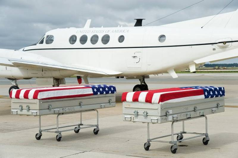 Repatriation of Mexican-American War remains arrived Sept. 28, 2016, in a dignified transfer at Dover Air Force Base